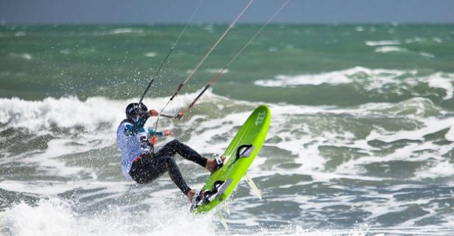 Kite surf Sète - Hérault, le Languedoc © Olivier Octobre