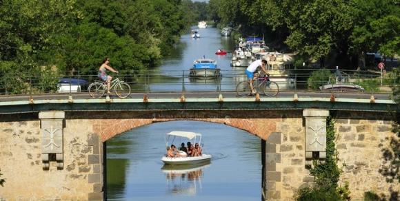 Le canal du Midi - Hérault, le Languedoc © Vias Méditerranée